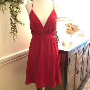 NWT Gorgeous Red Express Cocktail Dress 💋